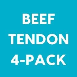 Beef Tendon Dog Chew 4 Pack