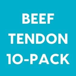 Beef Tendon Dog Chew 10 Pack