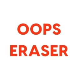 Oops Eraser Enzymatic Cleaner
