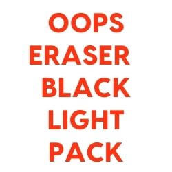 Oops Eraser Black Light Pack