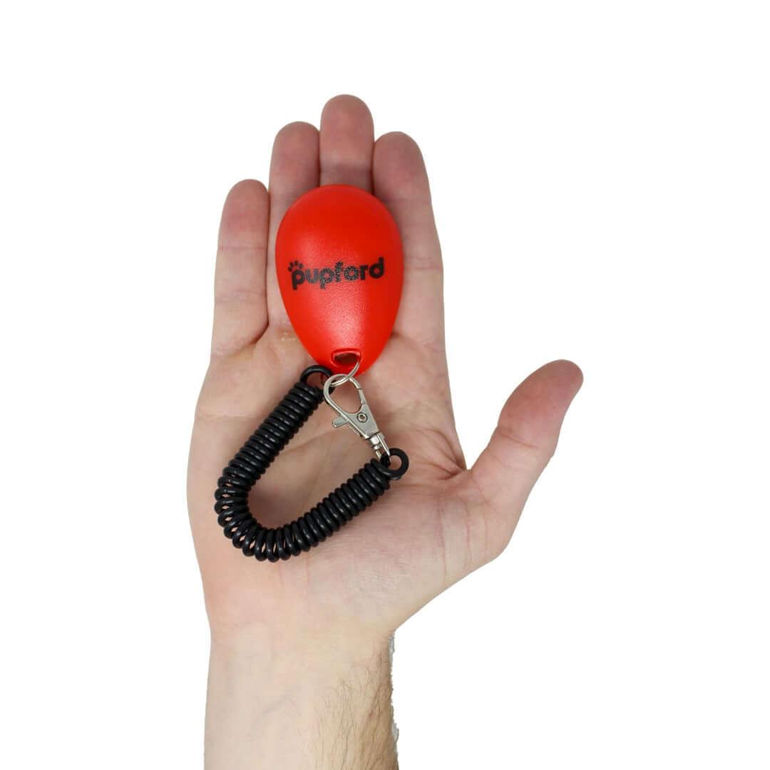 clicker-in-hand | Pupford