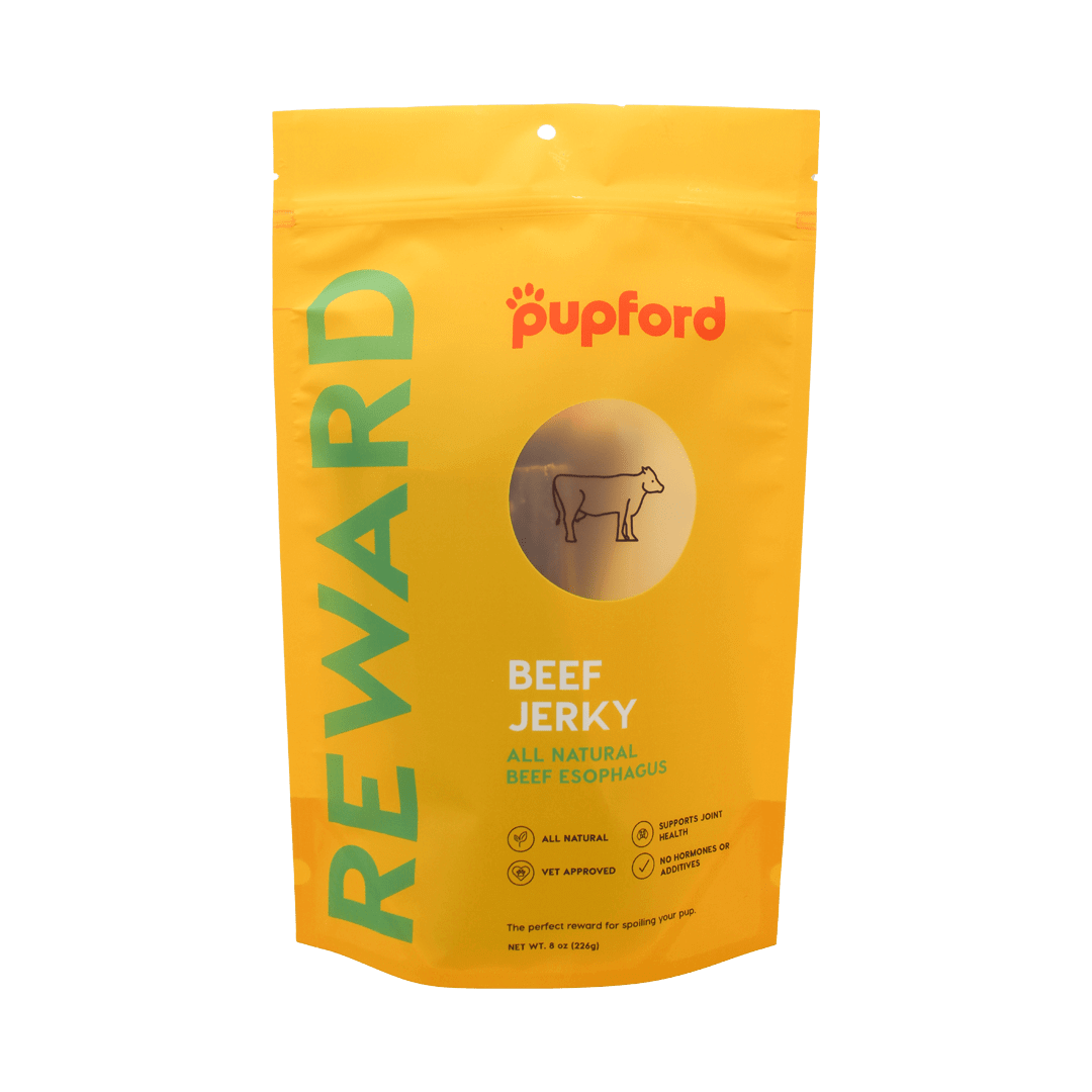 8oz-Beef-Jerky-Front-of-Bag-Site | Pupford