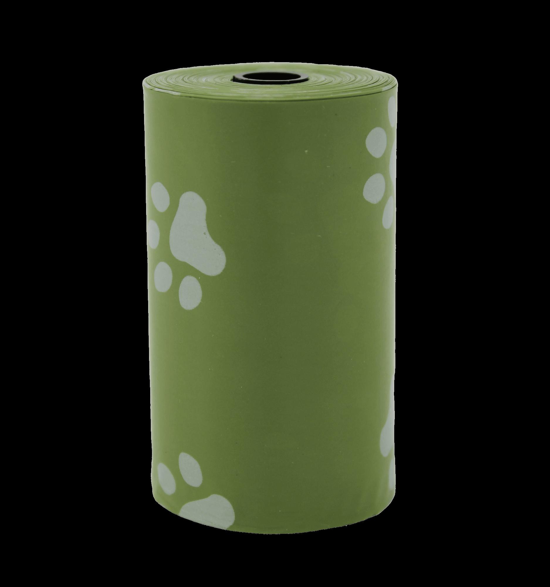 Single-Poop-Bag-Green | Pupford