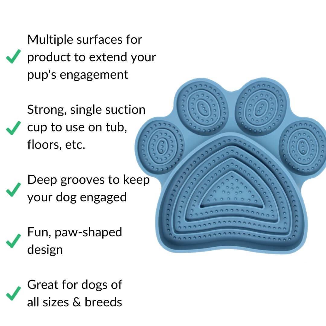 pure focus lick mat benefits | Pupford