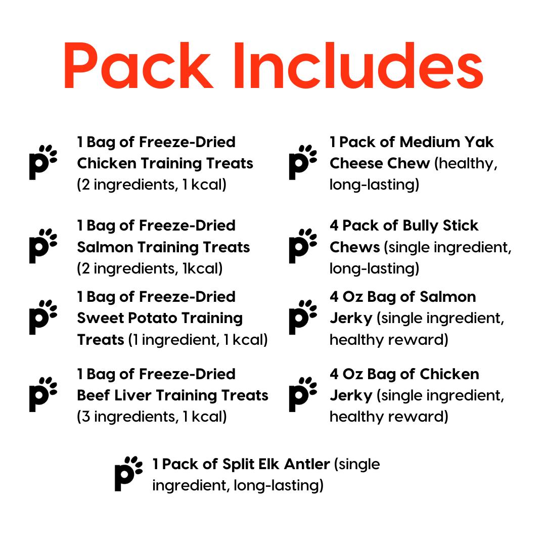 medium dog ultra pack inclusions | Pupford