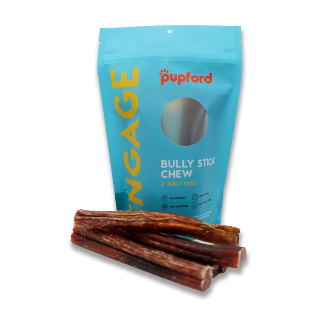 Bully-Sticks-in-Front-of-Bag | Pupford