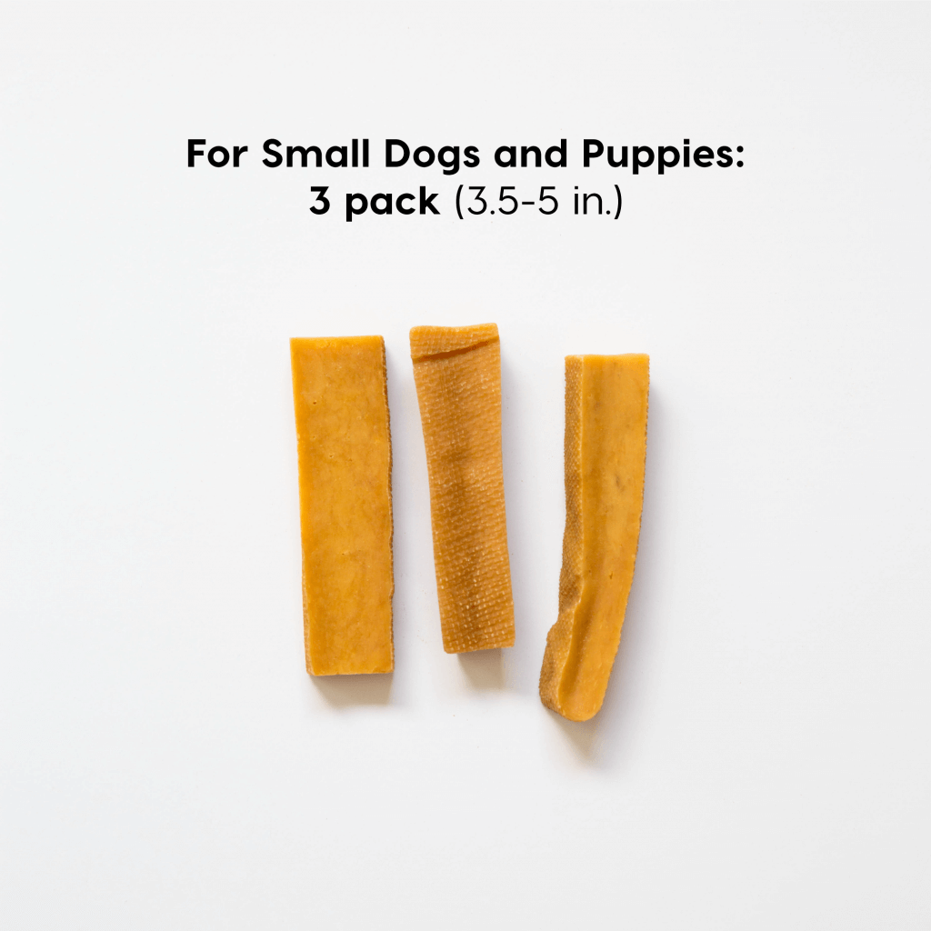 small-dog himalayan chew 3 pack | Pupford