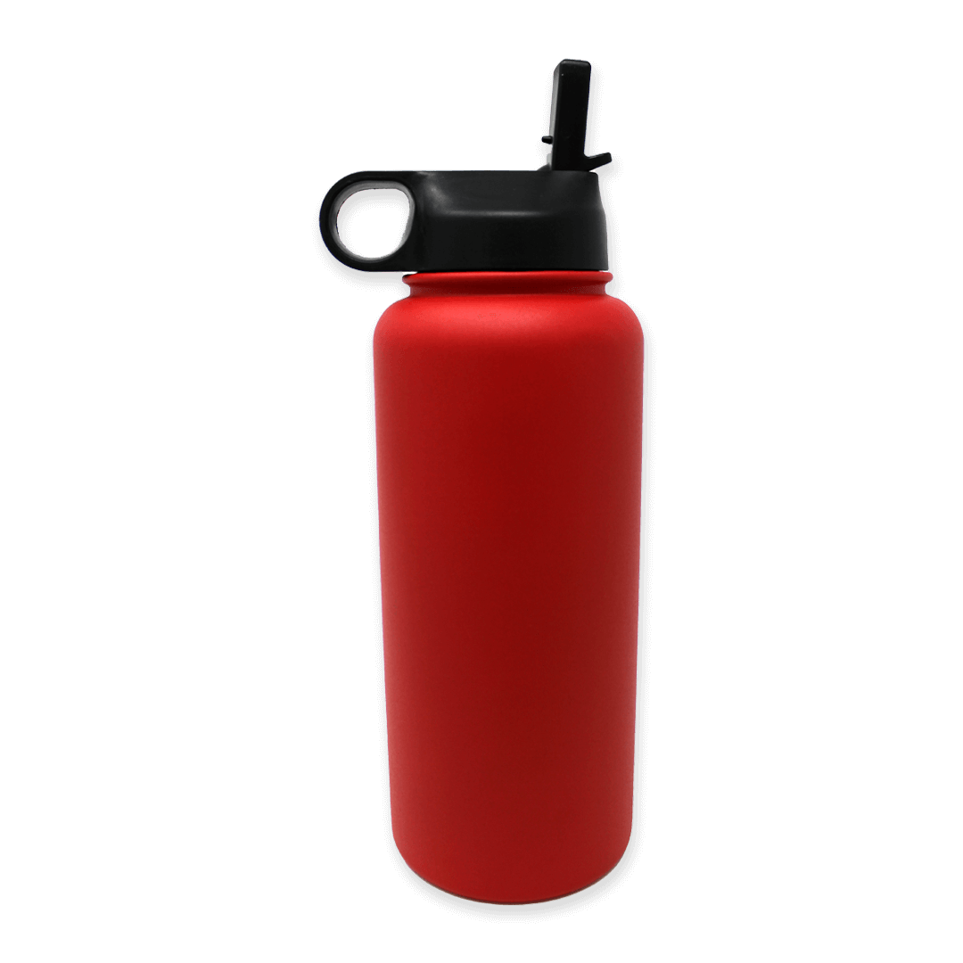Red-Water-Bottle-Back-Lid-Up | Pupford