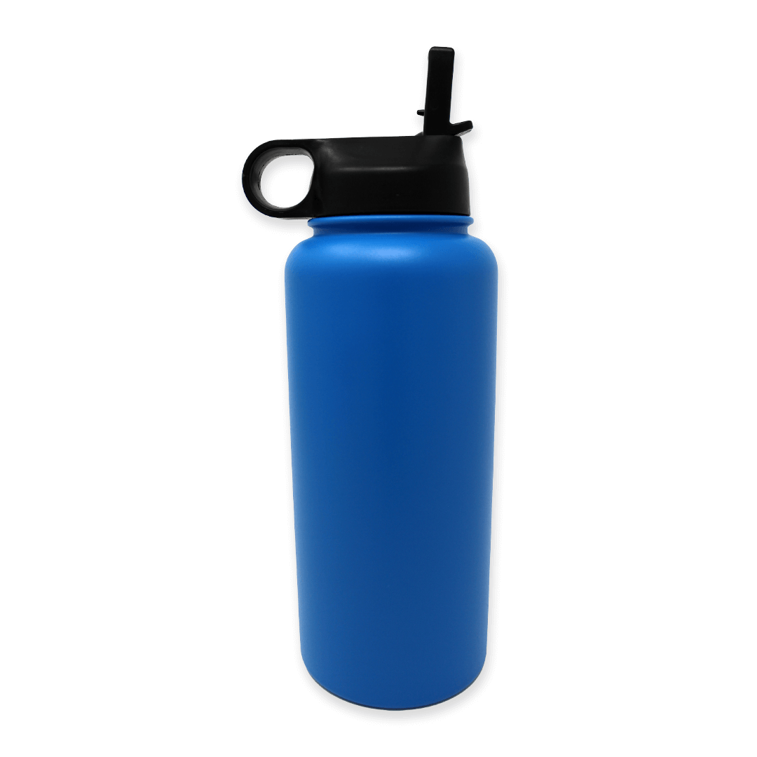 Blue-Water-Bottle-Back-Lid-Up | Pupford