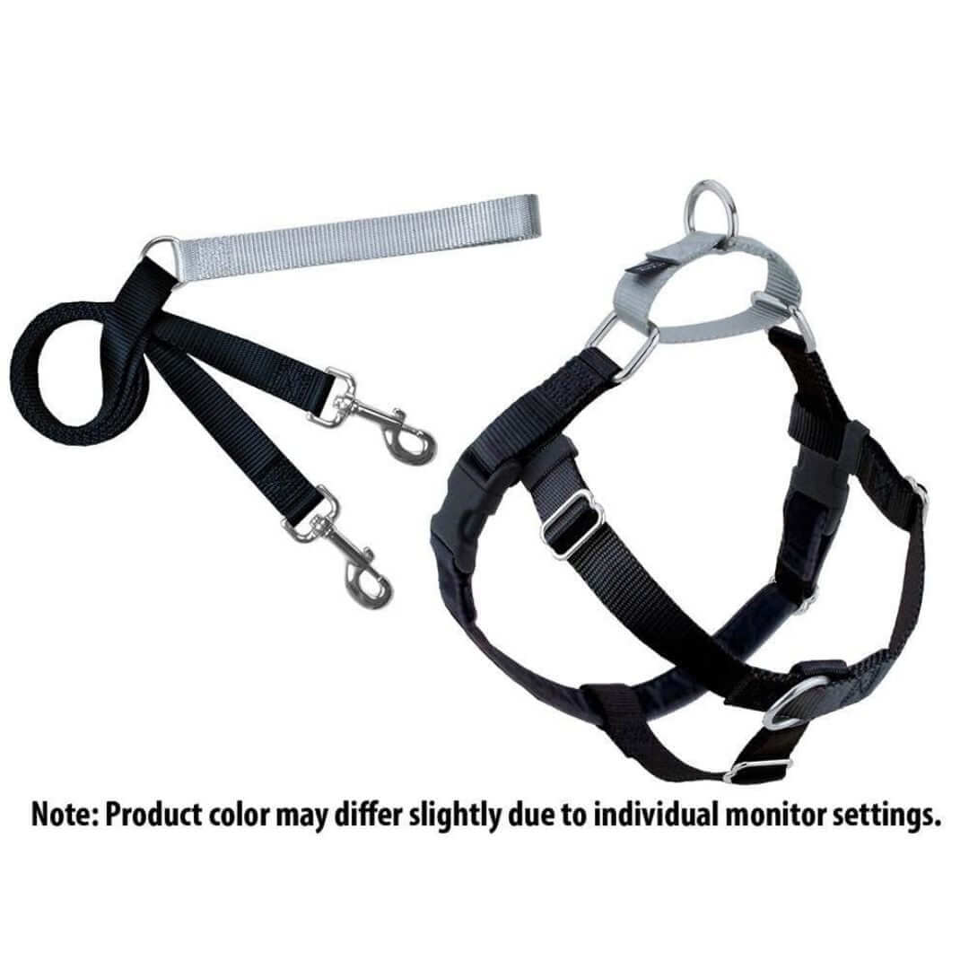 freedom-no-pull-harness-and-training-leash-black | Pupford