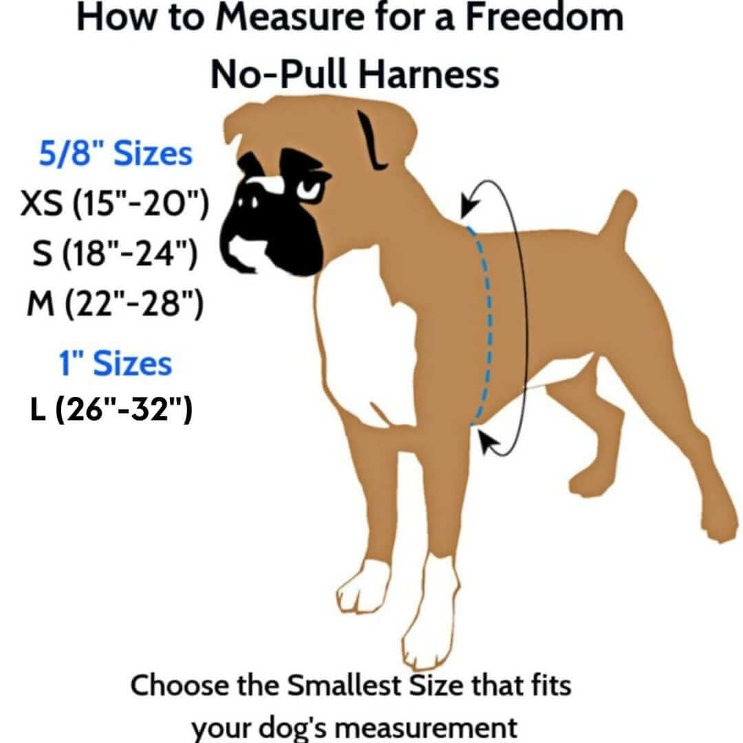 how-to-measure-for-a-freedom-no-pull-harness | Pupford