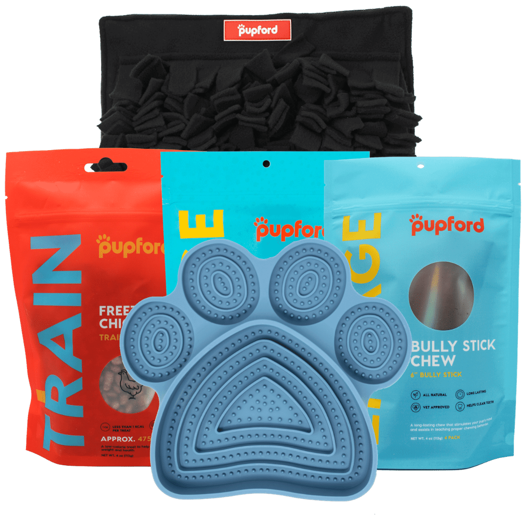 large dog alone time pack | Pupford