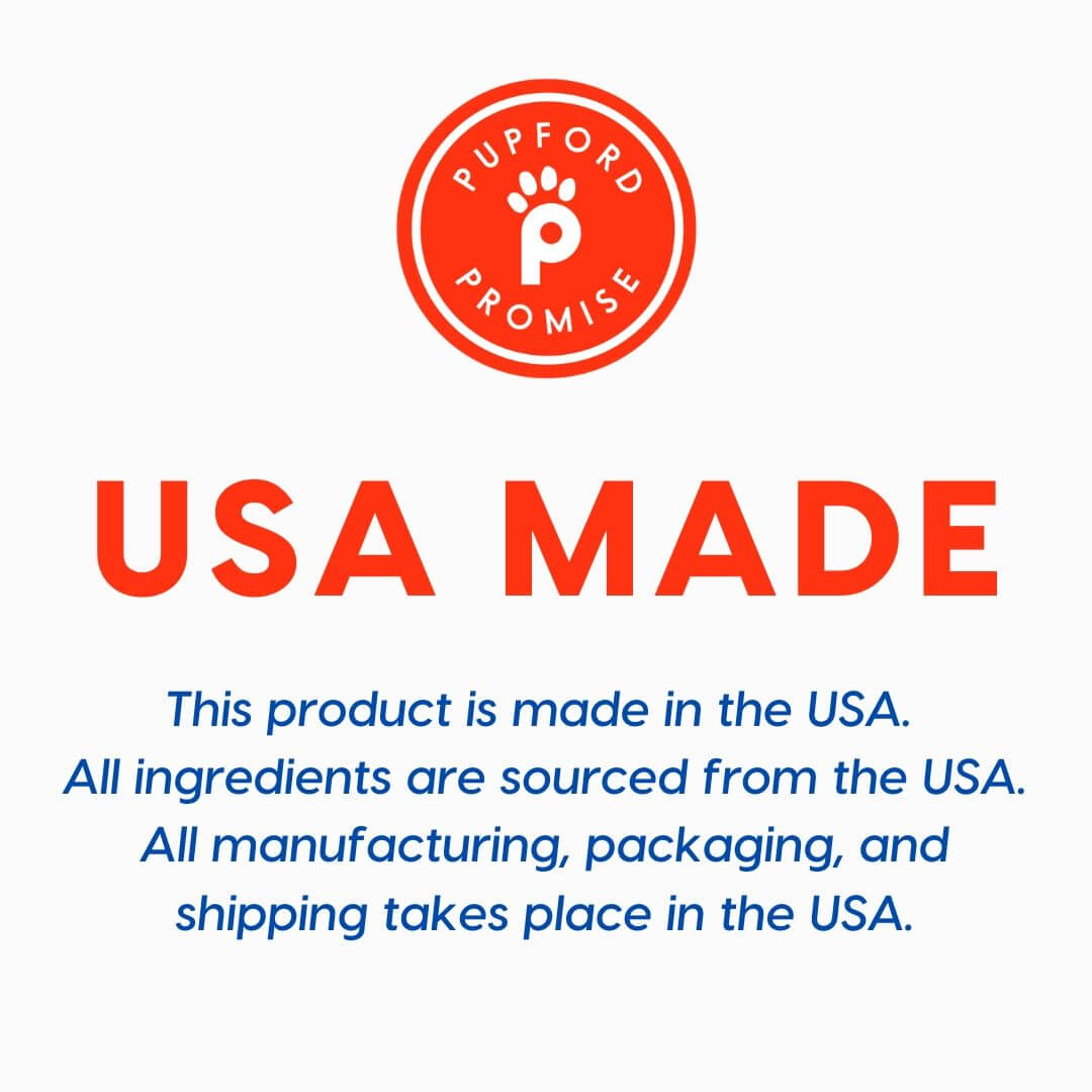usa made and sourced product   Pupford