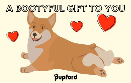 bootyful gift card | Pupford