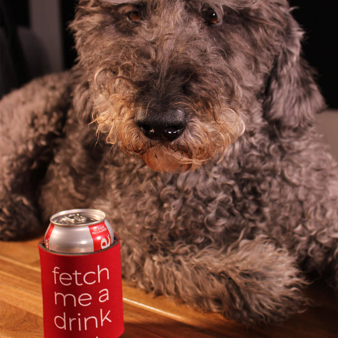 Doris-with-Koozie | Pupford