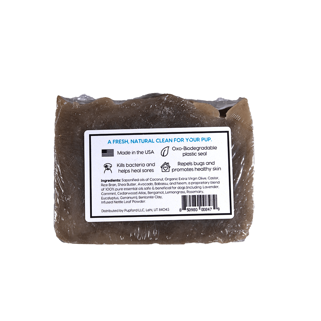 Sudsy Original Scent Shampoo Bar for Dogs Back | Pupford