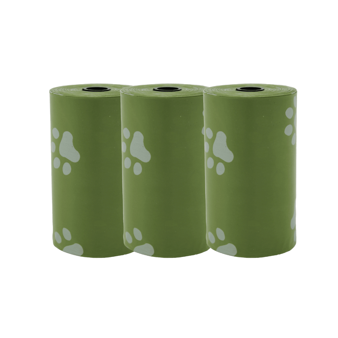 3 poop bag rolls | Pupford