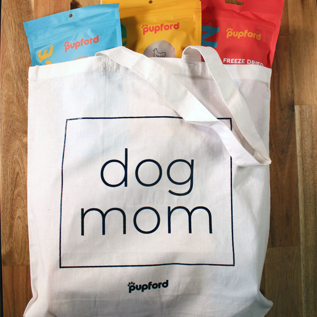 Dog-Mome-Tote-Bag-with-Items-Inside | Pupford