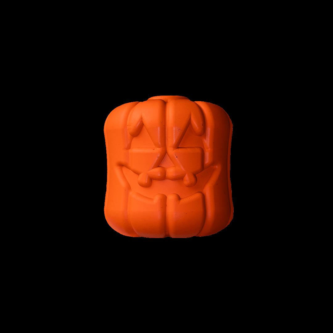 Sodapup Jack-O-Lantern Enrichment Chew Toy