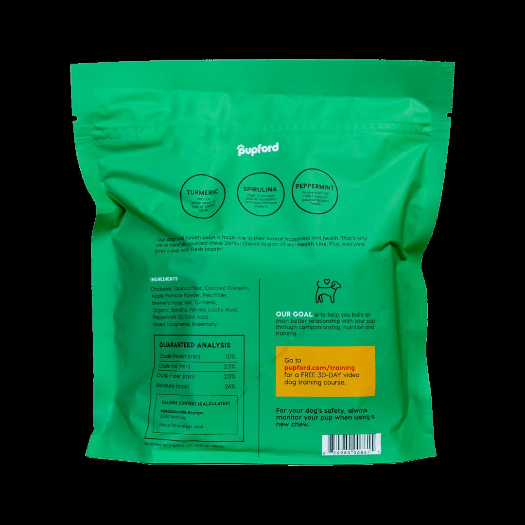 Dental-Chew-30-Count-Back-of-Bag-Web | Pupford