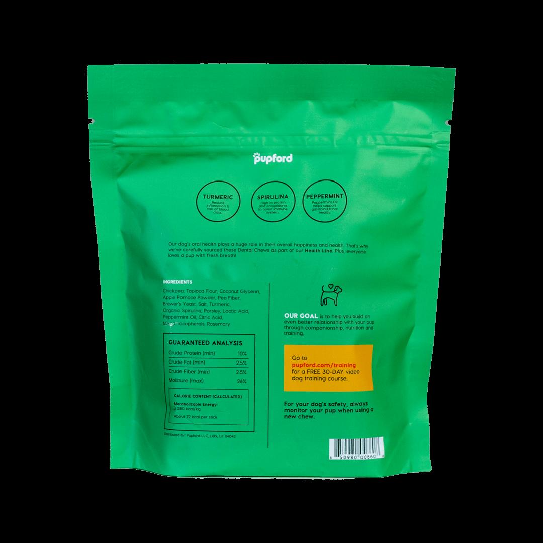 Dental-Chew-14-Count-Back-of-Bag-Web | Pupford