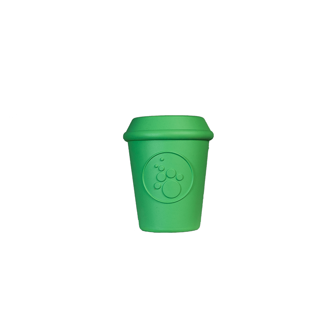 Sodapup Coffee Cup Enrichment Chew Toy