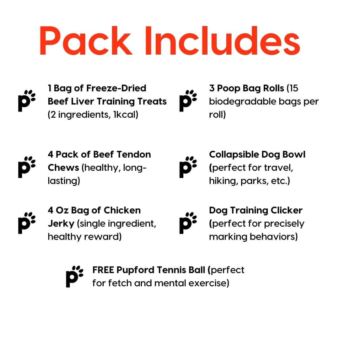 puppy and small dog black friday pack inclusions | Pupford