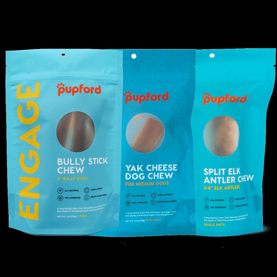 medium dog tasty chew pack | Pupford