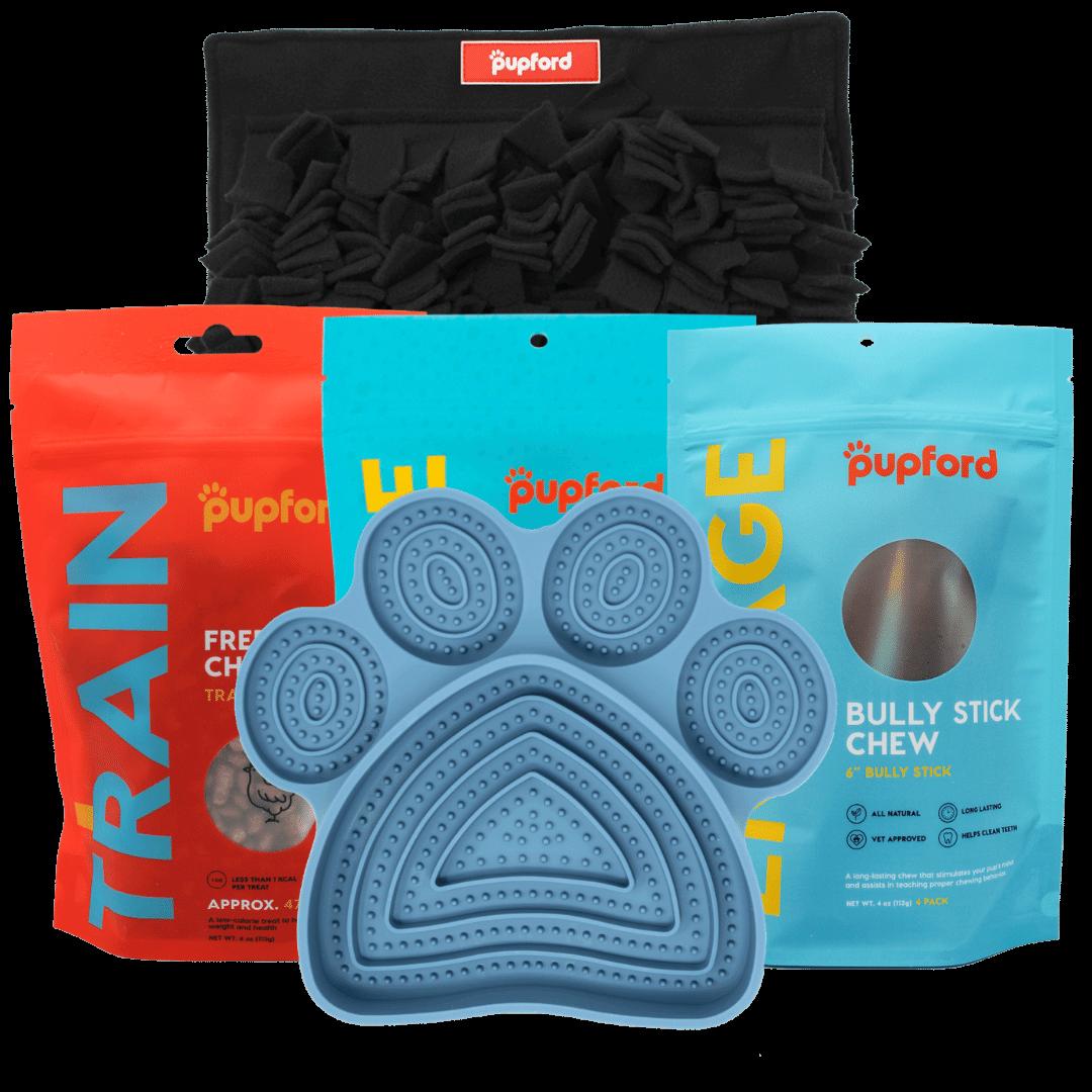 medium dog alone time pack | Pupford