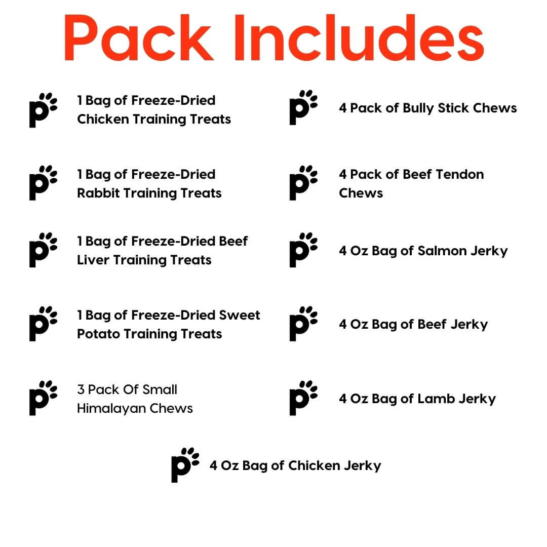 puppy and small dog great pack inclusions | Pupford
